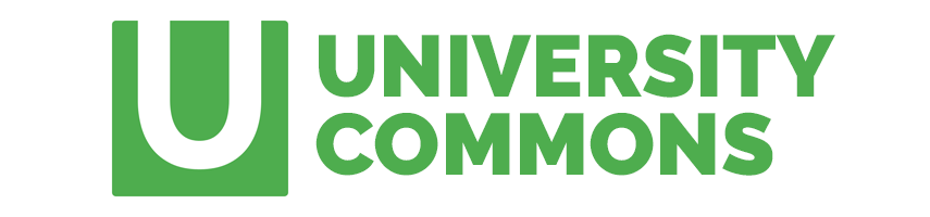 University Commons logo and title